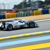 No. 2 Audi R18 e-tron quattro during the first Free Practice session