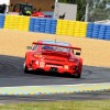 No. 79 GTE AM Flying Lizard Porsche 911 RSR at the first free practice session of Le Mans