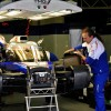 Toyota TS030 Hybrid being prepped for practice
